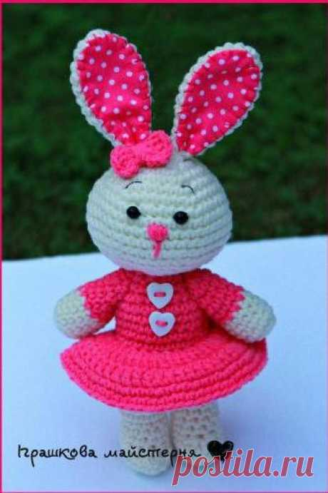 knitted little hare