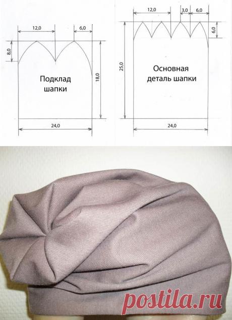 Как сшить шапку своими руками: мастер-класс — Сделай сам, идеи для творчества - DIY Ideas