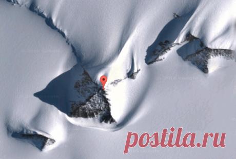 Пирамида в Антарктиде