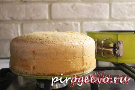 Бисквит на кипятке рецепт с фото пошагово Ванильный бисквит на кипятке получается вкусным, пышным и высоким. Рецепт с пошаговыми фото, поэтому даже новичок справится с задачей.