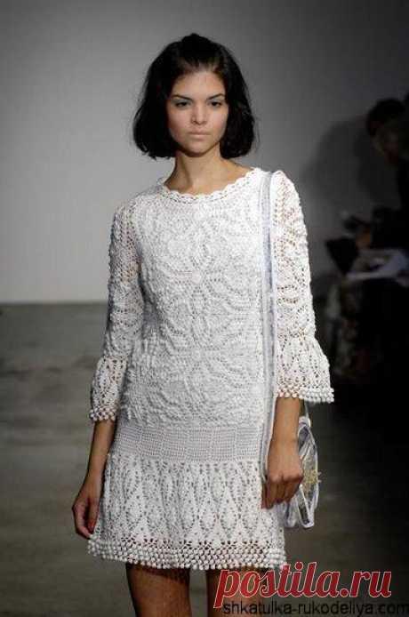 Летнее платье с шишечками от Ребекки Тейлор Летнее платье с шишечками от Ребекки Тейлор. Красиво смотрится как в коротком так и в длинном варианте.