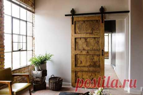 Старые двери в интерьере: идеи использования.