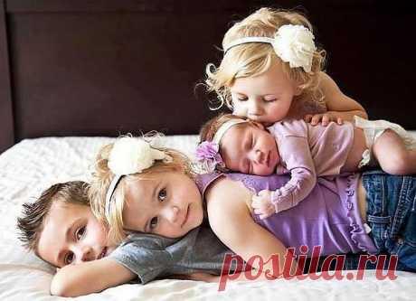 Только от большой любви рождаются красивые дети!