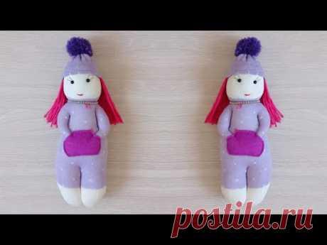 Куколка из носка своими руками