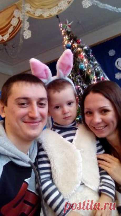 Дочь Танюша с мужем Сережей и Сашенькой