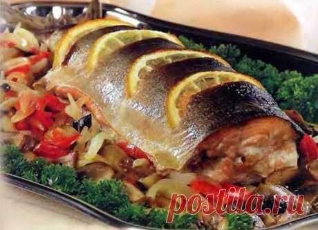 Интересные новости     Рыба в духовке - 3 лучших рецепта и пару полезных советов.