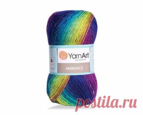 Пряжа YarnArt AMBIANCE 20% шерсть , 80% акрил, 250 м, 100 г - купить по выгодной цене - интернет-магазин Кудель