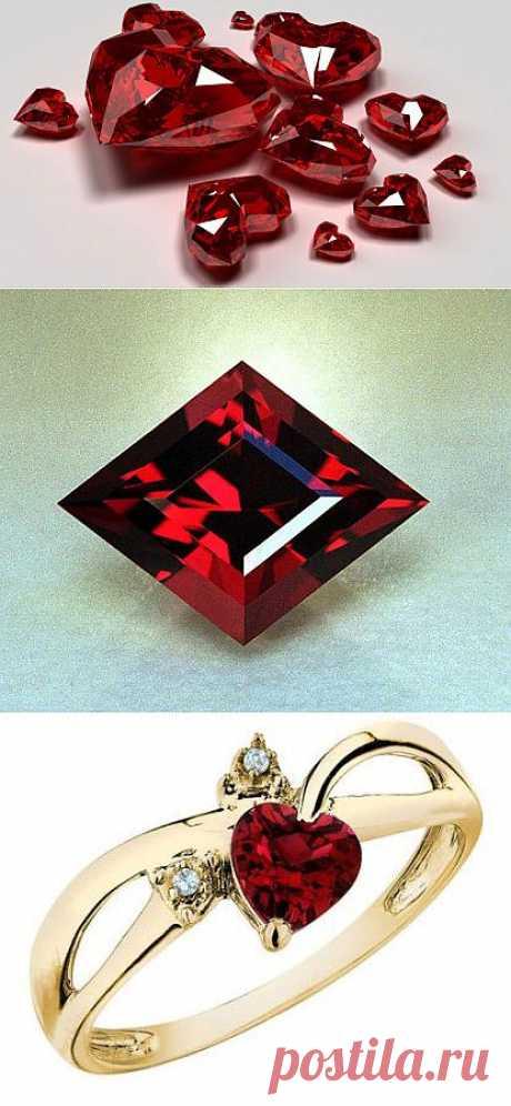 Целебные свойства рубина.