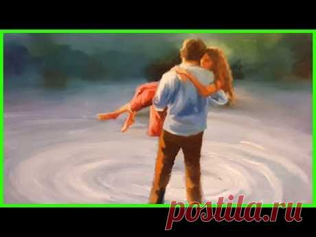 Урок по живописи маслом Счастливая Пара. Художник А.Южаков+79857776200