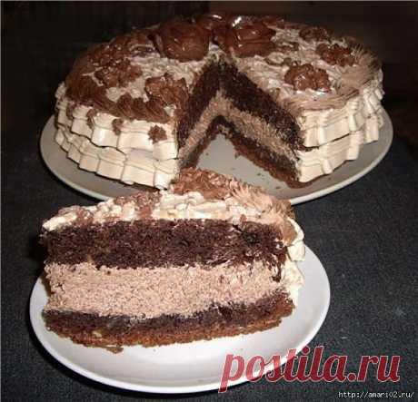 Торт на кипятке. - Простые рецепты Овкусе.ру
