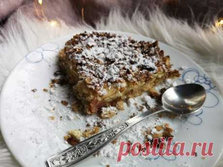 Пирог крошка из овсяных хлопьев рецепт | Блог о косметике и красоте Dareas Beauty