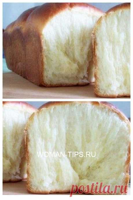 Воздушный молочный хлеб