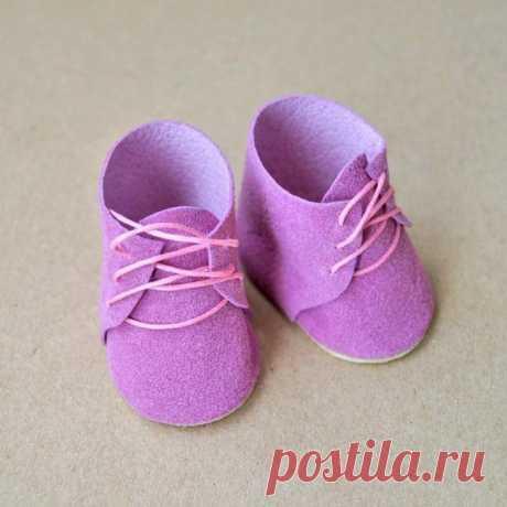 Ботиночки для кукол и игрушек