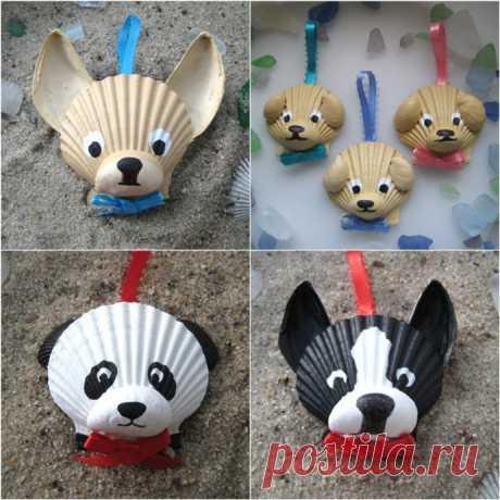 Идеи создания с детьми игрушек из ракушек