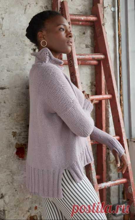 Пуловер Tallat by Justyna Lorkowska - Modnoe Vyazanie ru.com