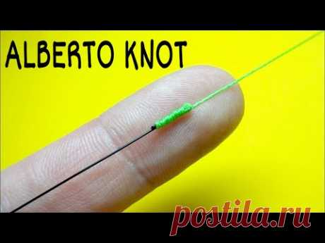 Как связать леску между собой. Соединительный узел alberto knot. Лайфхаки и самоделки для рыбалки - YouTube