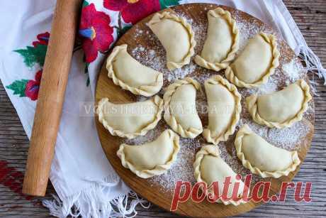 Вареники на картофельном отваре Сегодня у нас не простые вареники с картошкой и грибами, а особые — на картофельном отваре.