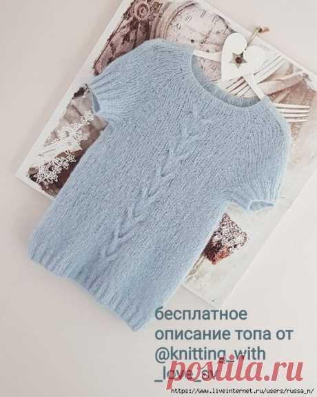 Ждём лето! Вяжем спицами футболки и кофточки | МАГИЯ ВЯЗАНИЯ | Яндекс Дзен