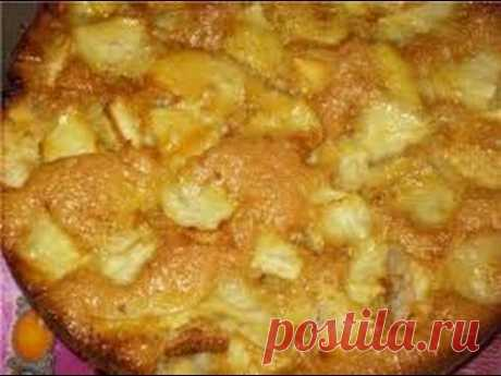 VERY tasty CHARLOTTE with APPLES (apple pie)