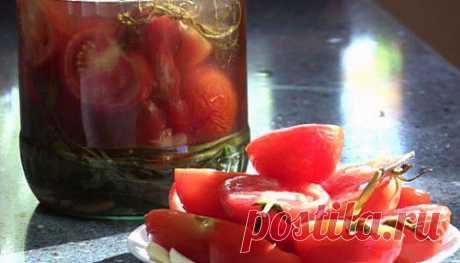 Помидоры соленые «4 дня» / Простые рецепты