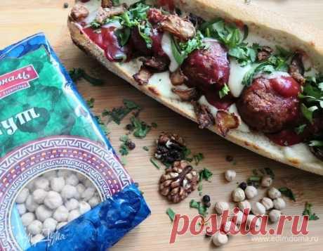 Домашние «сабы» с шариками из нута и моцареллой, пошаговый рецепт, фото, ингредиенты - Елена