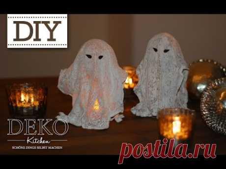 DIY: coole Halloween-Gespenster selber machen | Deko Kitchen