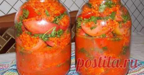 Быстрые помидоры по-корейски - Со Вкусом
