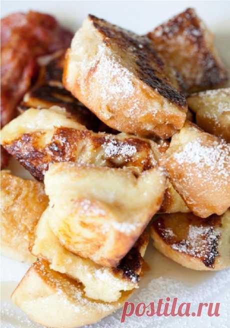 Когда у меня нет времени готовить детям кашу, я делаю сладкие французские тосты: завтрак сметается со стола за считанные секунды