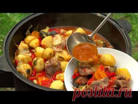 Вкуснее вкусного, проще простого!! БАСМА В КАЗАНЕ - Царский обед!  Рецепт от Всегда Вкусно!