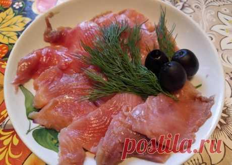 Горбуша солёная в апельсинах - пошаговый рецепт с фото. Автор рецепта natashka752.234 🌱🌳 . - Cookpad