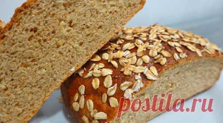 Обалденный овсяный хлеб с мёдом по скандинавскому рецепту, пошаговый рецепт с фото