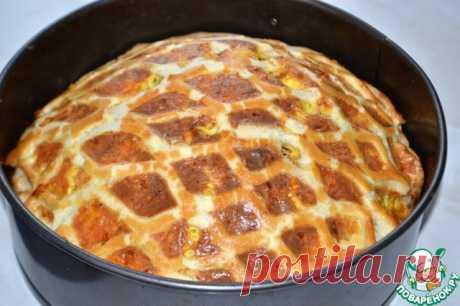 """Луковый пирог """"Чипполино"""". Дивная сырно-сметанная заливка и хрустящее слоеное тесто!   Четыре вкуса"""