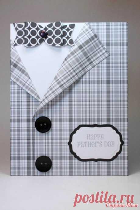 Идеи открыток для мужчин, упаковка мужского подарка, рубашка из денег, грамоты к 23 февраля - Поделки - Страна Мам
