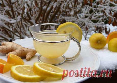 Имбирный чай - рецепты чая с имбирем для похудения - Вкусная еда
