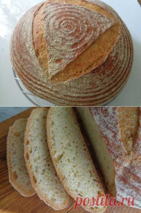 Кукурузный хлеб   pain au levain