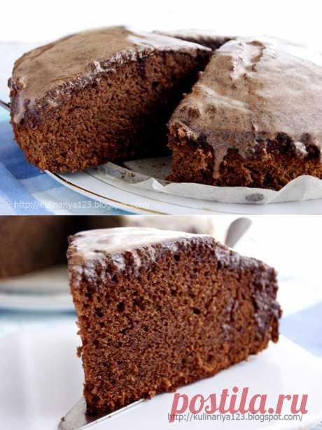 Шоколадное кухэ (просто, быстро и вкусно)