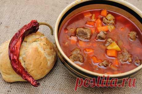 Суп гуляш рецепты приготовления