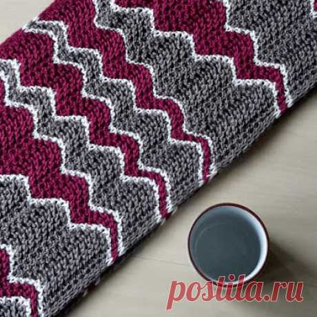 Knitting and so on: Jolly Waves Cowl