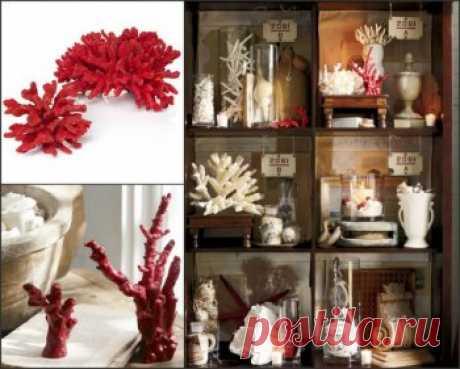 Делаем искусственные кораллы в домашних условиях — Своими руками