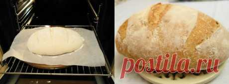 Домашний хлеб без замеса рецепт прост как раз, два, три! Пышный, душистый, с хрустящей корочкой ... | ТО ТО ЖЕ
