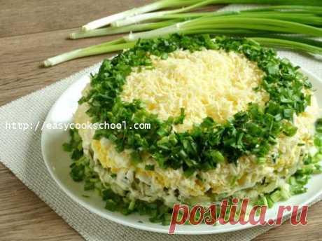Салат с вешенками рецепт с фото   Легкие рецепты
