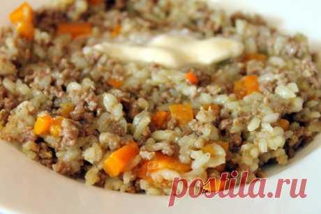 Рисовая каша с фаршем | Домашняя кухня | Яндекс Дзен