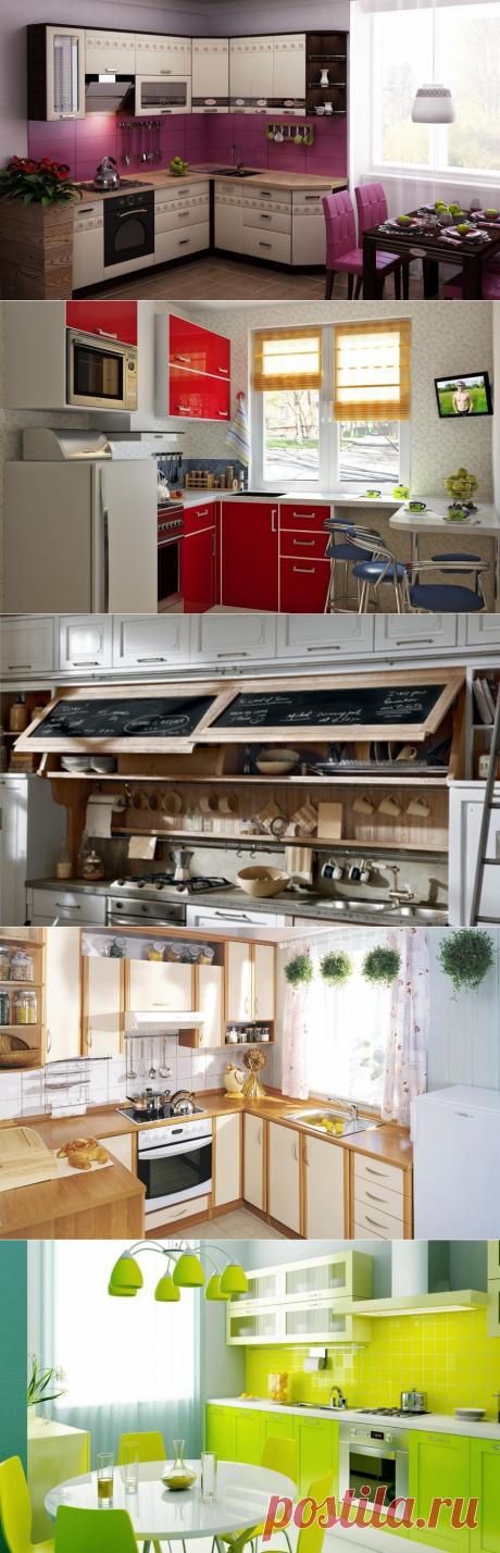 Как превратить маленькую кухню в уютное пространство | Роскошь и уют