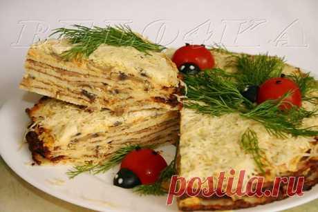 """Закусочный торт """"Объедение"""" Автор: belo4ka"""