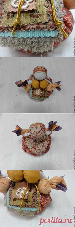 Мастер-класс по созданию народной обережной куклы Травницы – Ярмарка Мастеров