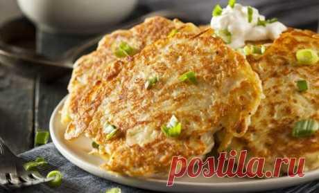 Картофельные оладьи: 4 потрясающих рецепта . Милая Я