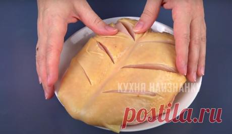 Готовила на Новый год, буду готовить и на Рождество: ну очень сочная куриная грудка (сочнее уже не бывает) | Кухня наизнанку | Яндекс Дзен