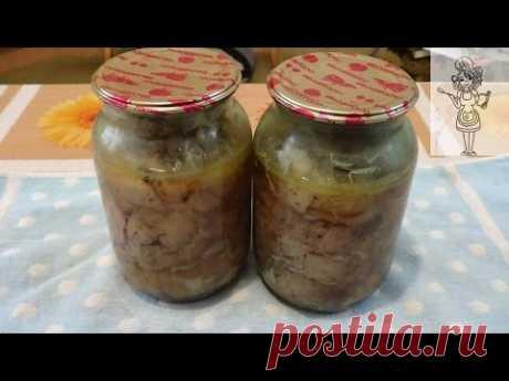 Тушенка из курицы, рецепт без костей