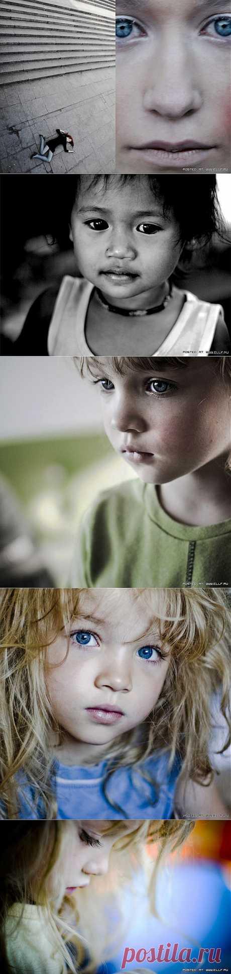 """(+1) - Фантастически эмоциональные кадры """"Глаза детей""""   О наших детях"""