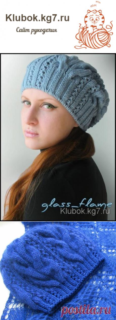 Вязаная шапка STARR от Kim Hargreaves | Клубок